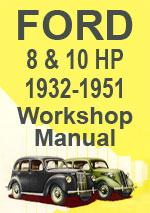 Ford 8-10 HP 1932-1951 Workshop Service Repair Manual Download pdf