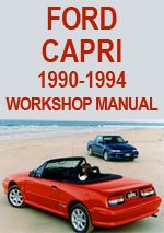 Ford Capri 1990-1994 Workshop Repair Manual
