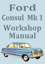 Ford Consul Mark 1 1951-1956 Workshop Service Repair Manual Download pdf