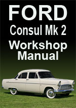 Ford Consul Mark 2 Workshop Service Repair Manual Download pdf