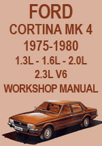 Ford Cortina Mk IV 1975-1980 Workshop Service Repair Manual Download pdf