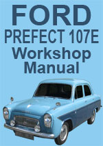 Ford Prefect 107E 1959-1961 Workshop Manual