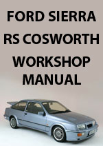 Ford Sierra RS Cosworth Workshop Service Repair Manual Download pdf