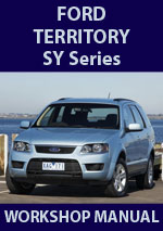 ford territory   workshop repair manuals