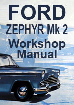 Ford Zephyr Mark 2 Workshop Service Repair Manual Download pdf